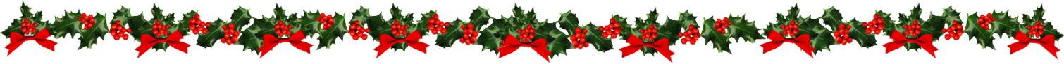CHRISTMAS HOLLY DIVIDER A
